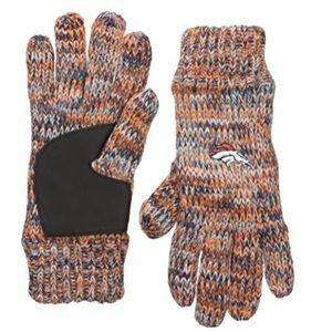 Denver Broncos Winter Peak Gloves NWOT